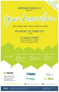 Green Home Fair Poster