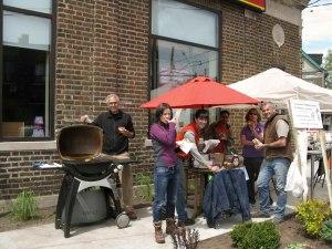 Peninsula Garden May 2012 - Barbecue Time!