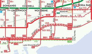 ward 32 transportation map