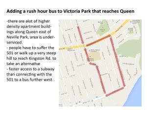 vic park bus